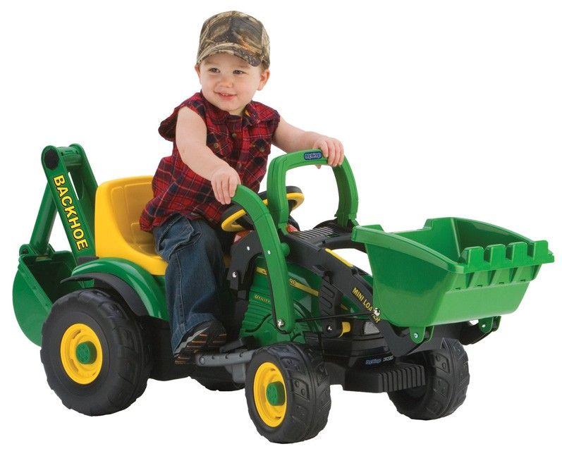 6V Utility Tractor w/Loader & Excavator