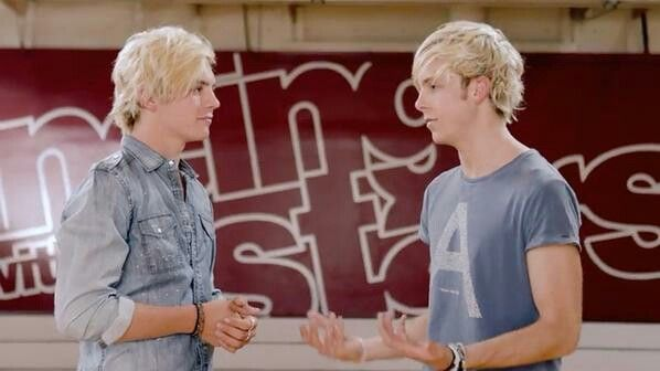 Ross and riker on DWTS