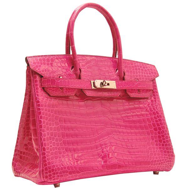 a5100201b749 Hermes Birkin bag 30 Pink crocodile skin 279.00
