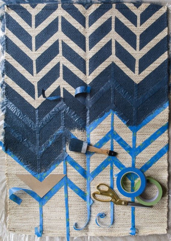 5 Quick Tips for Painting a Rug Like a Pro | Paint rug ...