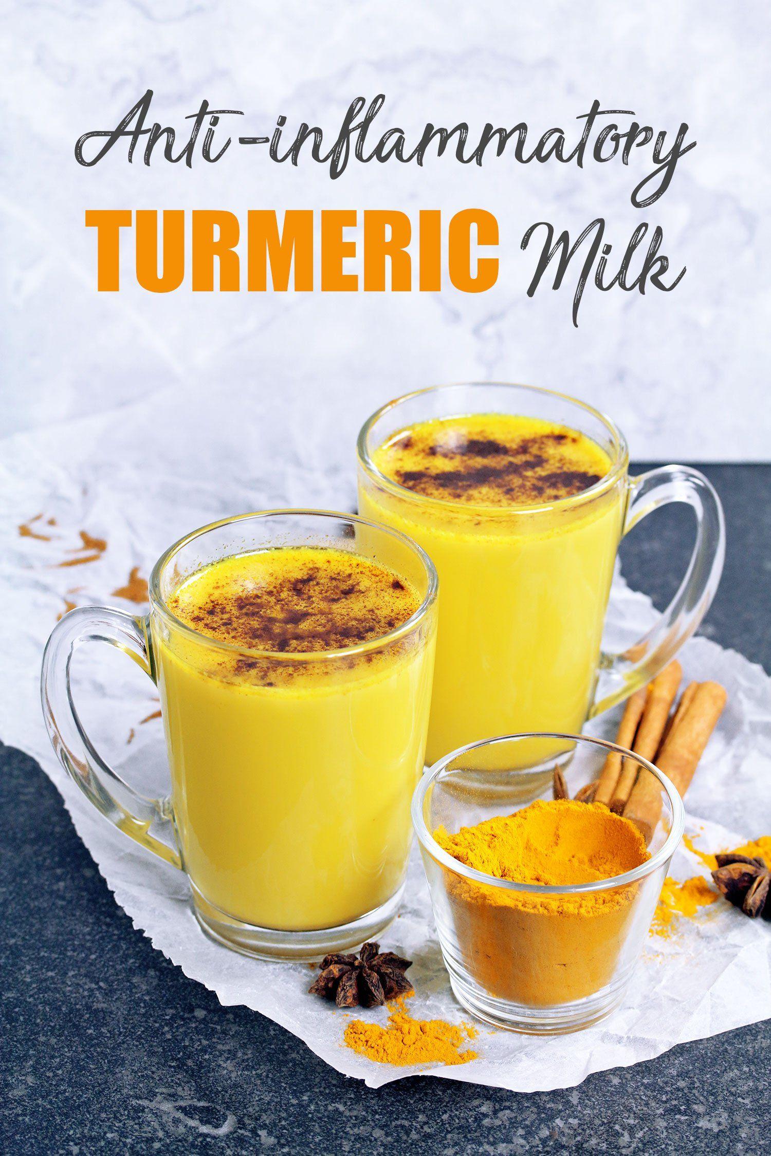 anti inflammatory golden turmeric milk getr nke und alkoholisches kurkuma milch rezepte und. Black Bedroom Furniture Sets. Home Design Ideas