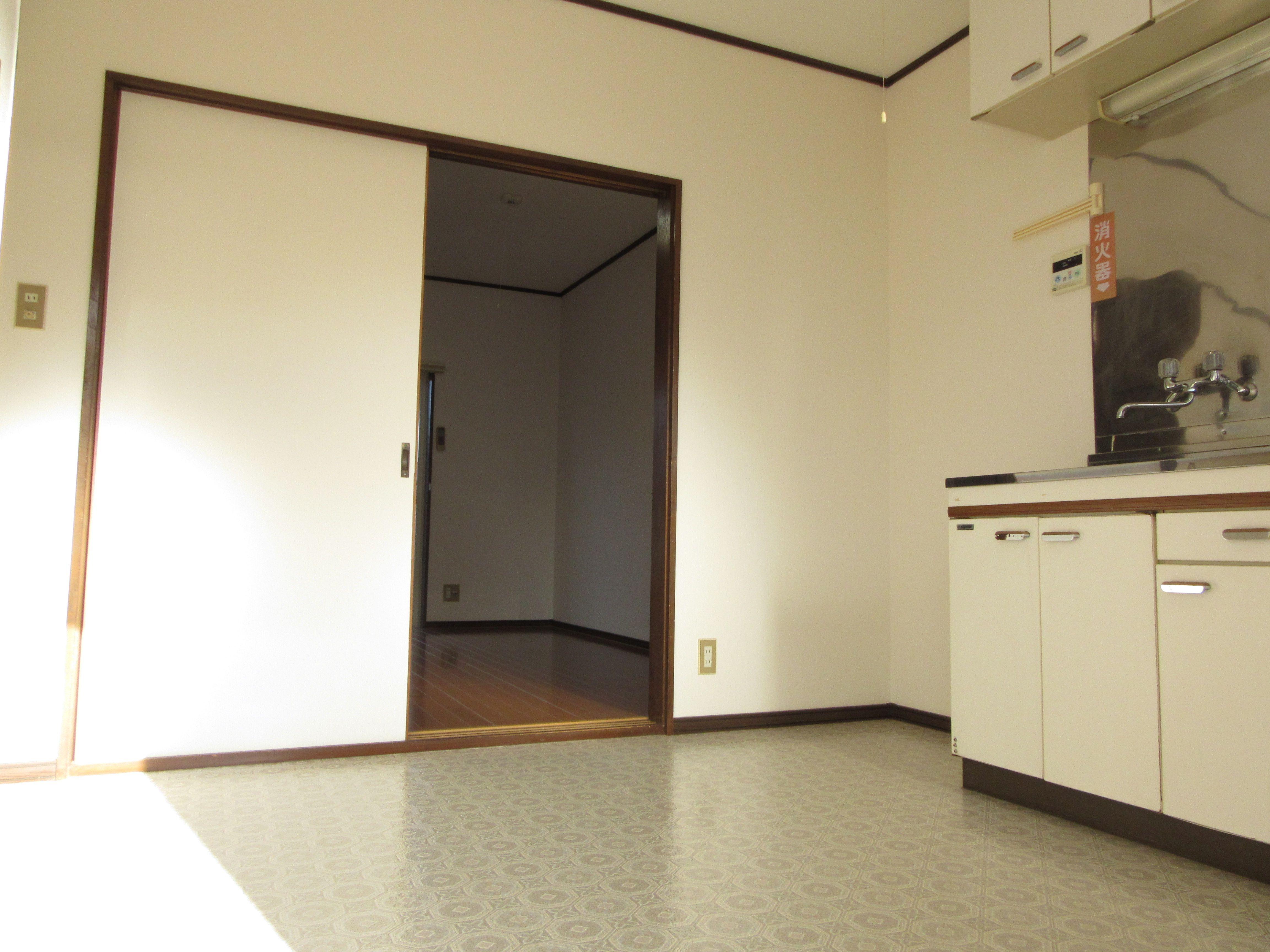 キッチン|賃貸 1K つかさコーポ byのぐち不動産