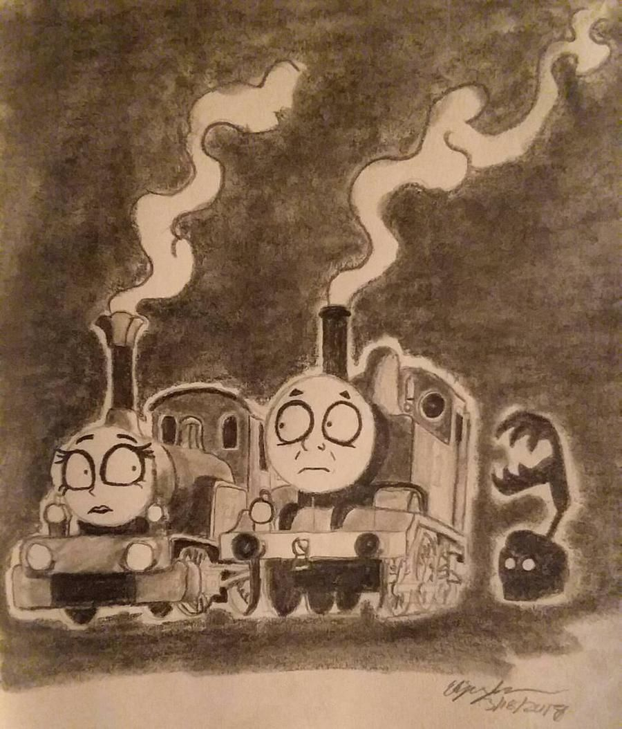 Tim Burton S Thomas And The Magic Railroad By Milw F6a On Deviantart Thomas Thomas And Friends Thomas The Tank Engine