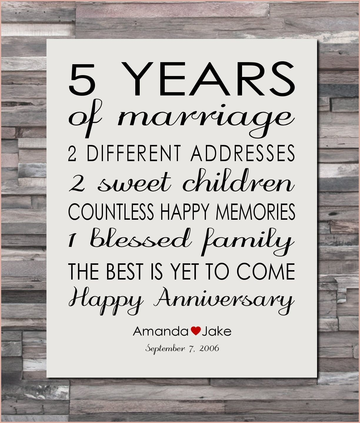 Perfect 5 Yr Wedding Anniversary Gift That Will Wow You