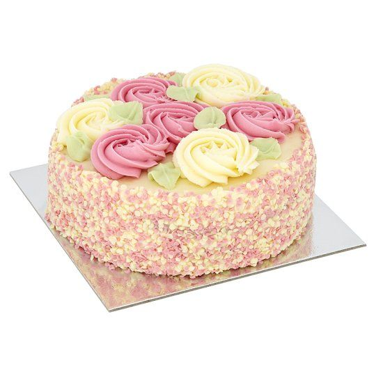 Image 2 Of Tesco Rose Bouquet Cake 1072G