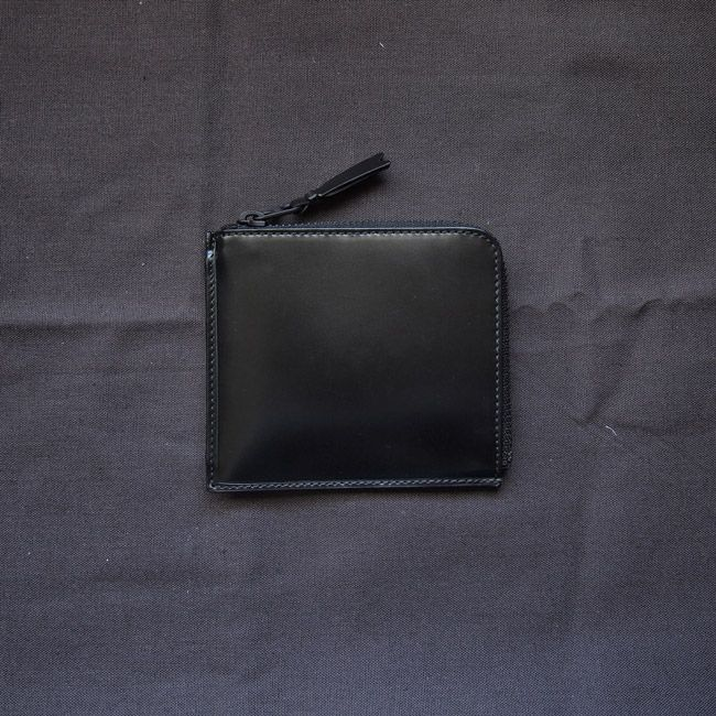 f4d506d31036 L字型zip財布 sa3100vb #black/very black [8z-i031-051-1] | Wallet ...