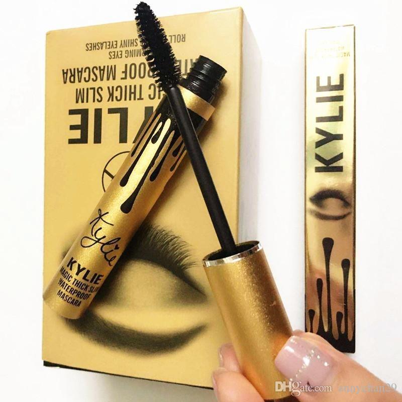 b1b800d127a 20% Off Kylie Birthday Edition Magic Thick Slim Waterproof Mascara Kylie  Black Eye Mascara Long Eyelash Cosmetics Makeup Lash Volume Mascara Makeup  Case ...