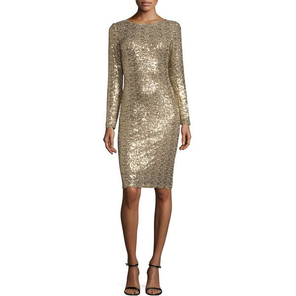 41++ Badgley mischka long sleeve sequin dress ideas