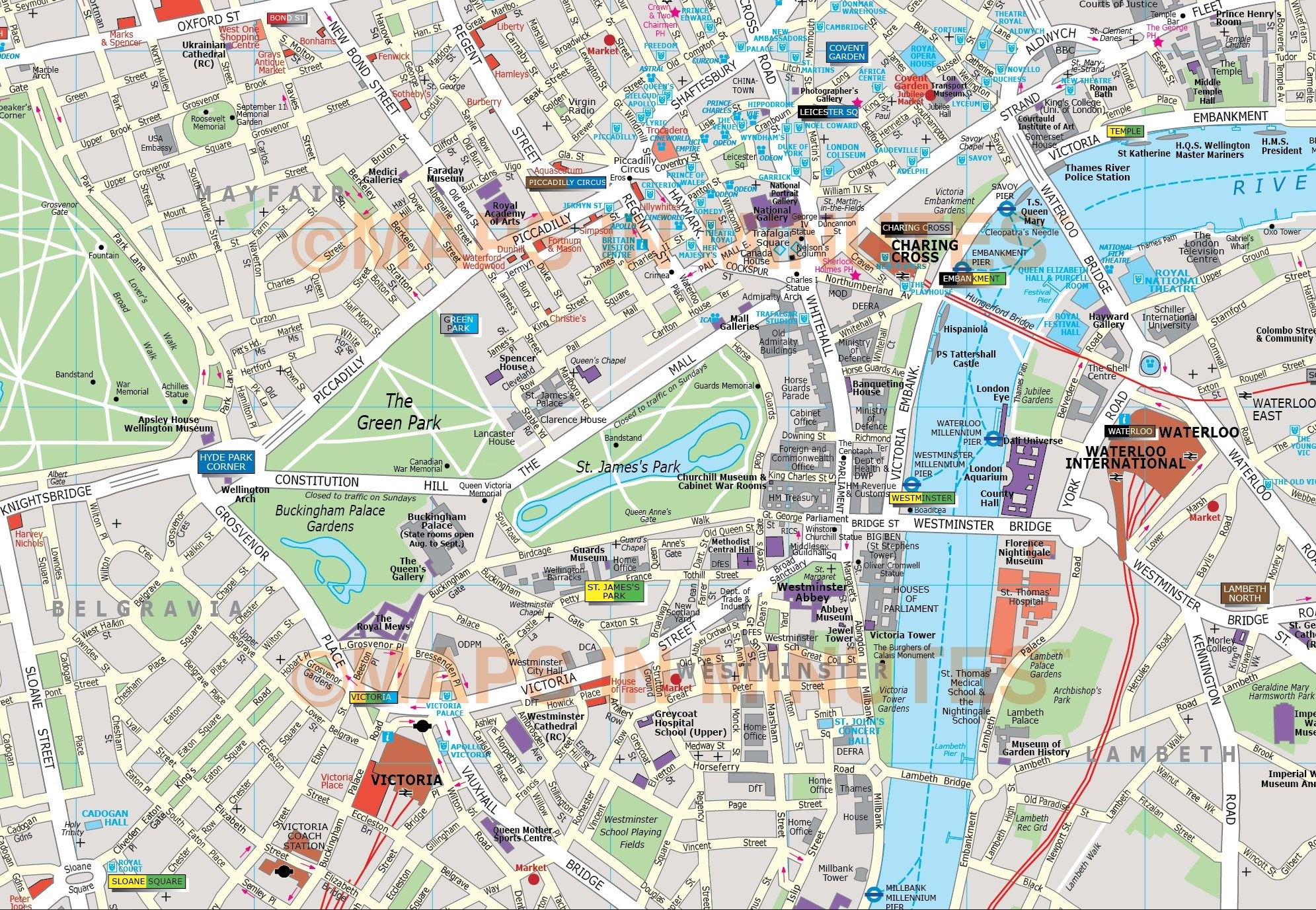 image result for london map