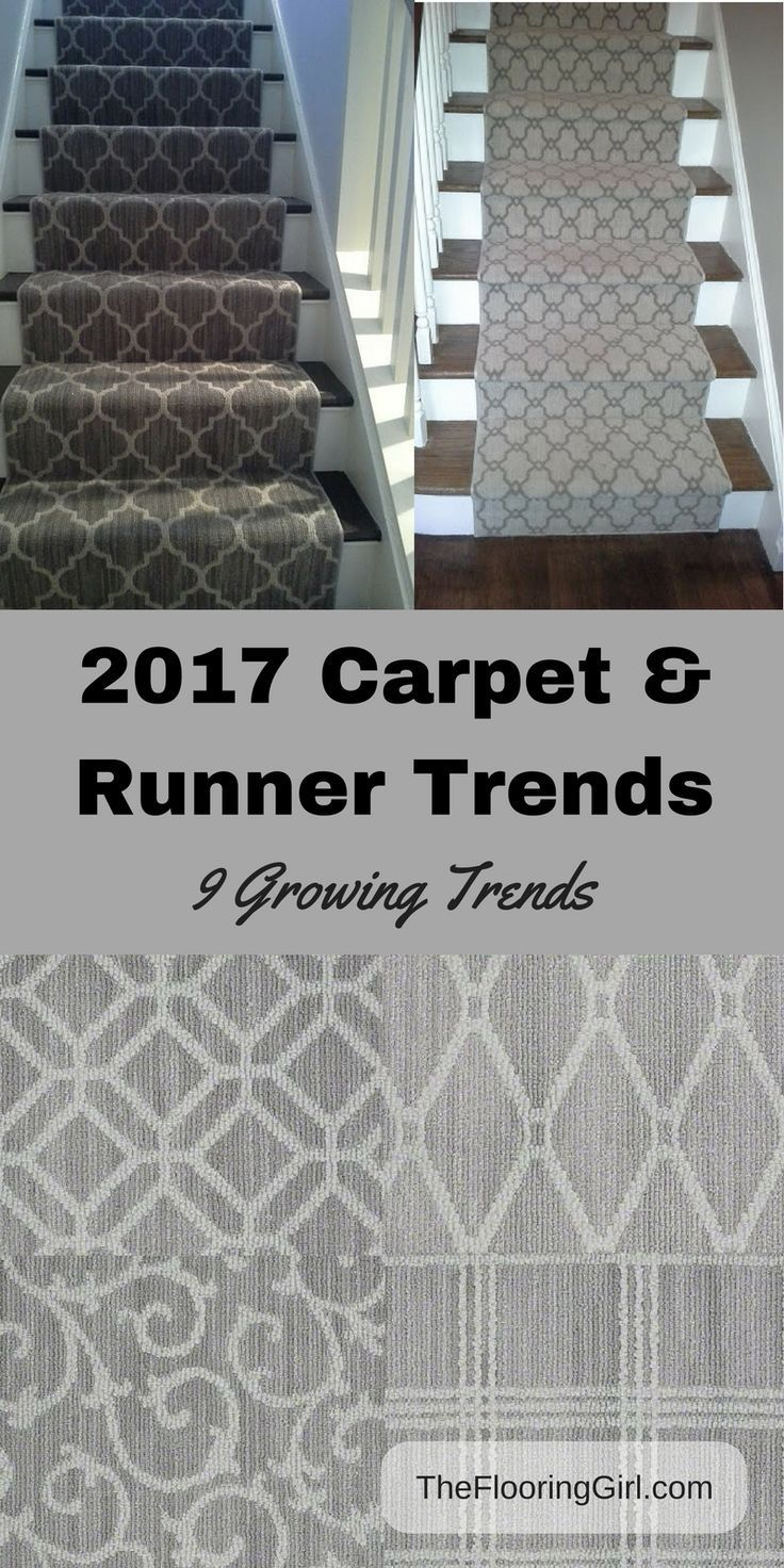 2018 Carpet Runner and Area Rug Trends