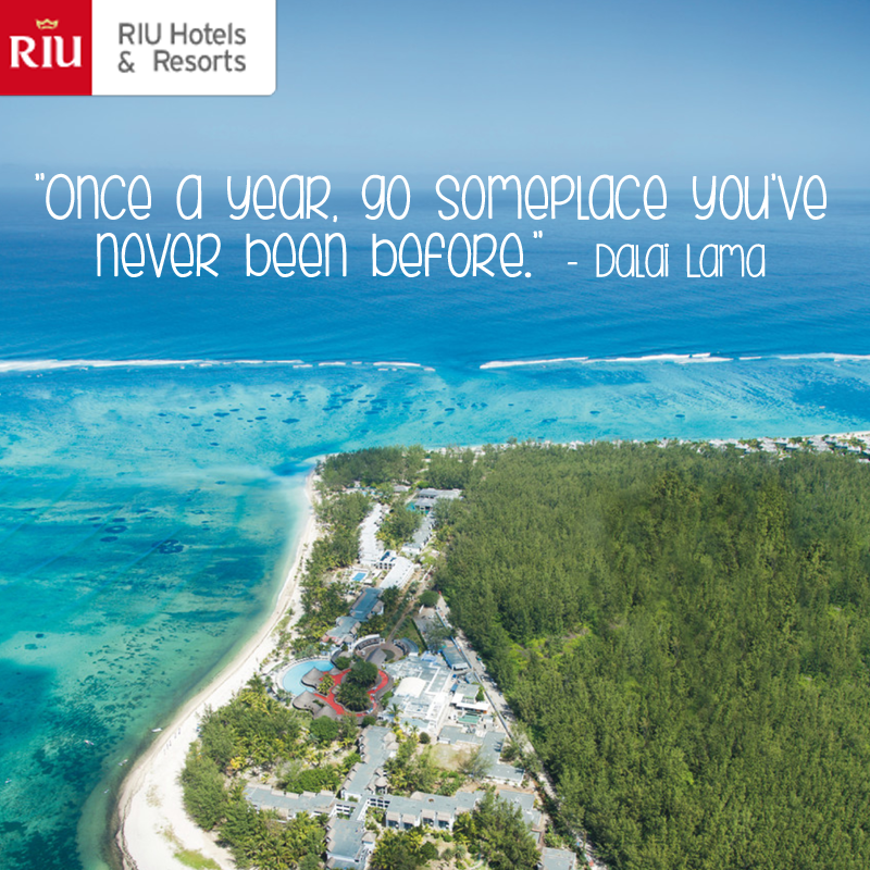 "Go Travel Vacations: ""Once A Year, Go Someplace You've Never Been Before"" Dalai"