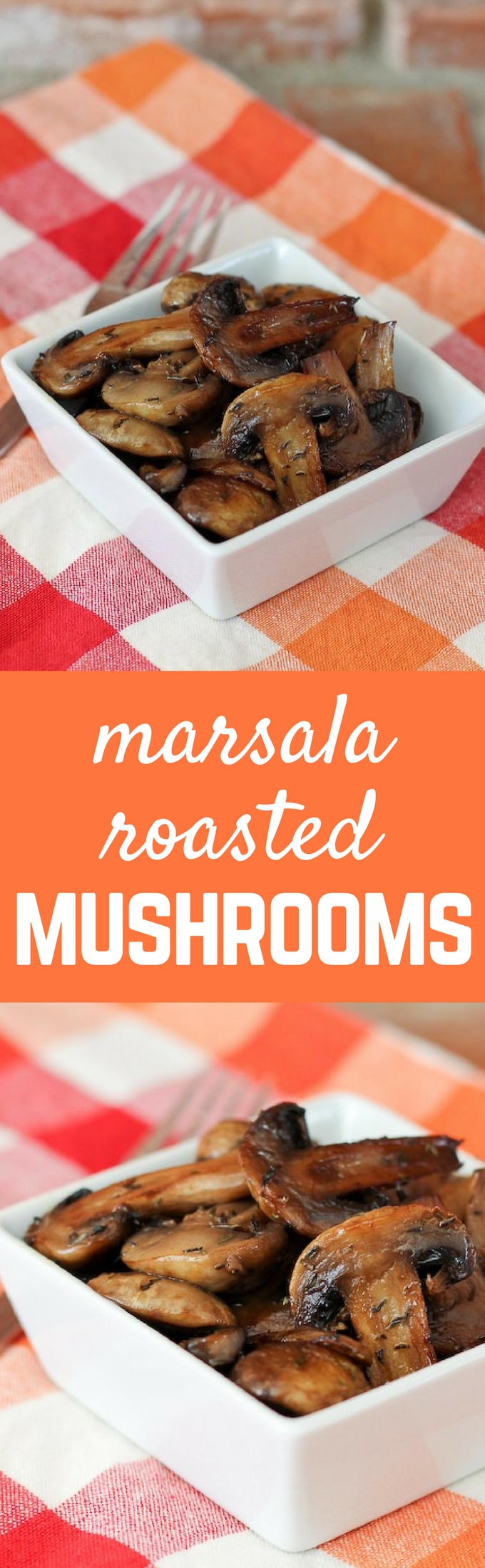 With all the great flavor of marsala, these marsala roasted mushrooms are the perfect side dish to nearly any meal! Get the easy recipe on RachelCooks.com!