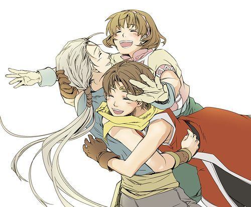 Suikoden 2 Riou Nanami And Jowy Amazing Drawings