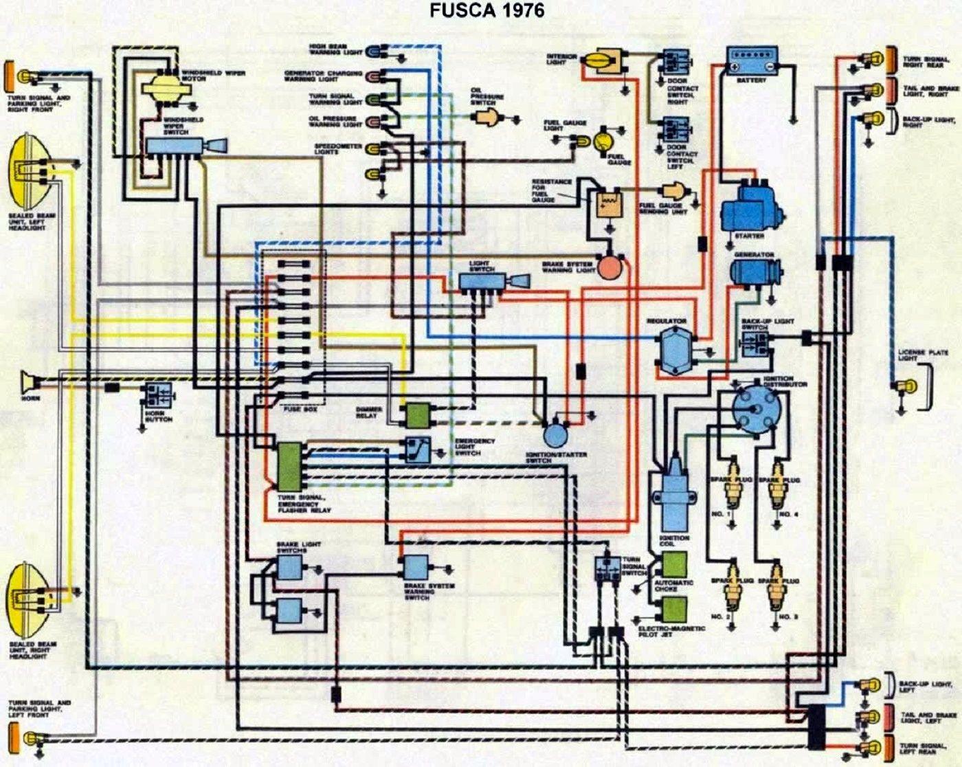 Esquema Eletrico Fusca 76 Http Www Umapergunta Com Esquema