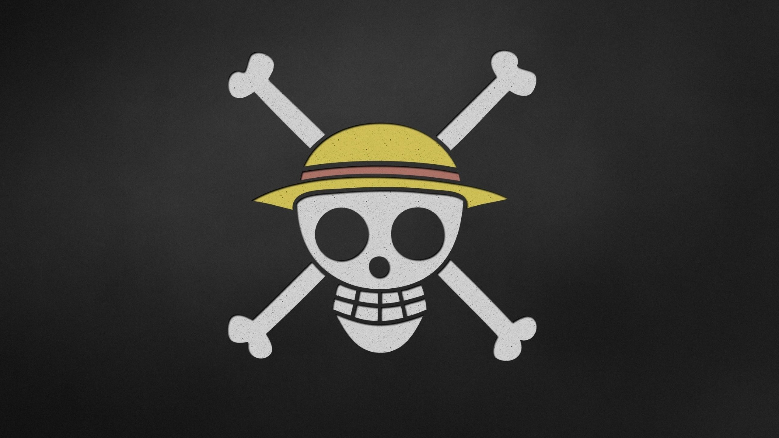 Minimalistic One Piece Logo Flag Wallpaper