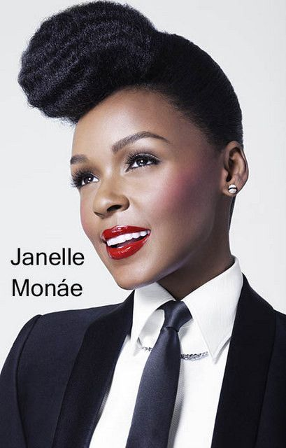 A great stylish portrait poster of Janelle Monae! Ready for your wall. Ships…