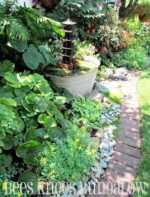 bees knees bungalow}: bryn mawr garden tour; part ii | landscape