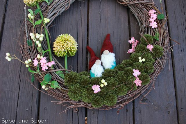 Theres GNOME Place Like Home Wreath