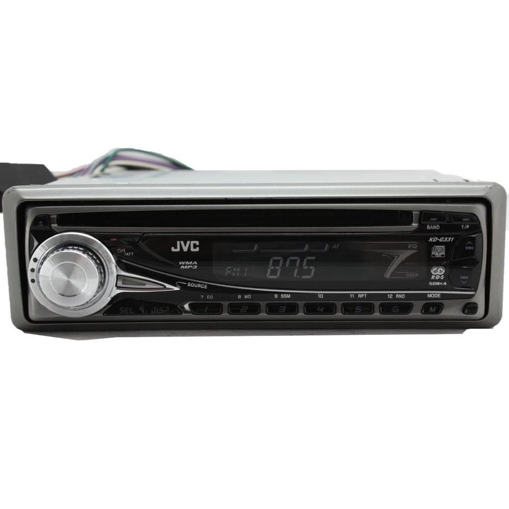 Peugeot 207 car stereo radio Kenwood CD MP3 Player plus Front USB AUX