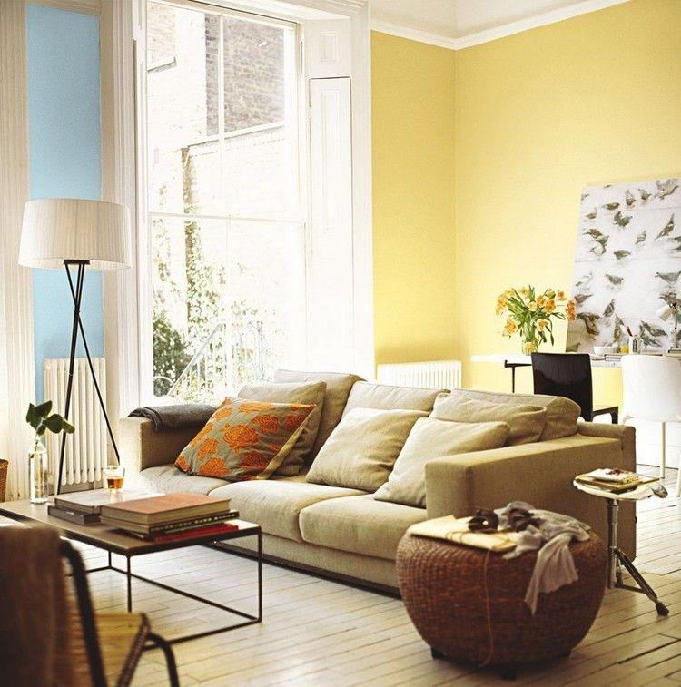 Fantastisch 29 Ideen Fürs Wohnzimmer Streichen U2013 Tipps Und Beispiele #beispiele #ideen # Streichen #