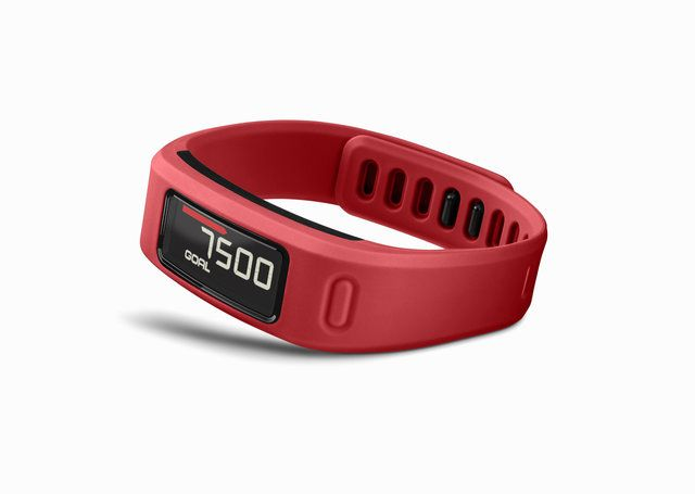 The new Garmin VivoFit Band - Now available in stunning red!