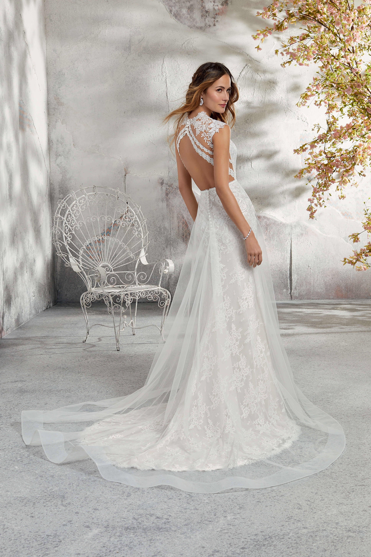 Trouwjurk Kant Strak.Morilee Weddingdress Bruiloft Bruid Trouwjurk Bride Kanten
