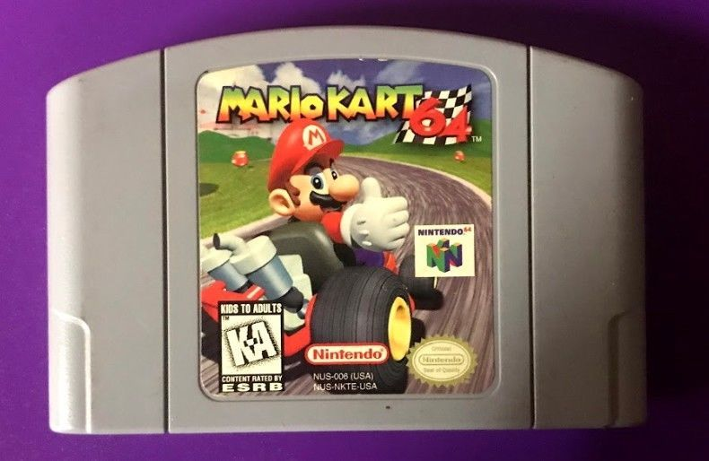 Mario Kart 64 (Nintendo 64, 1997) ORIGINAL/AUTHENTIC (NORTH