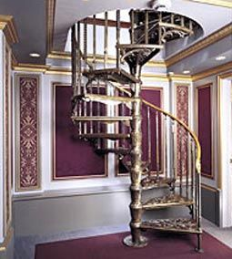 Victorian Spiral Staircases And Custom Design Staircases By The Iron Shop