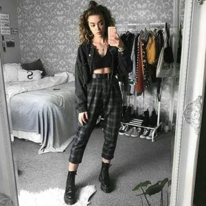Grunge Clothes 30 Cool and Edgy Grunge Outfits