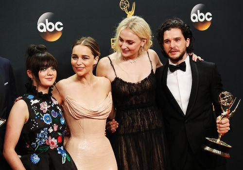 Mr. Kit Cat' Harington —    Emmys 2016