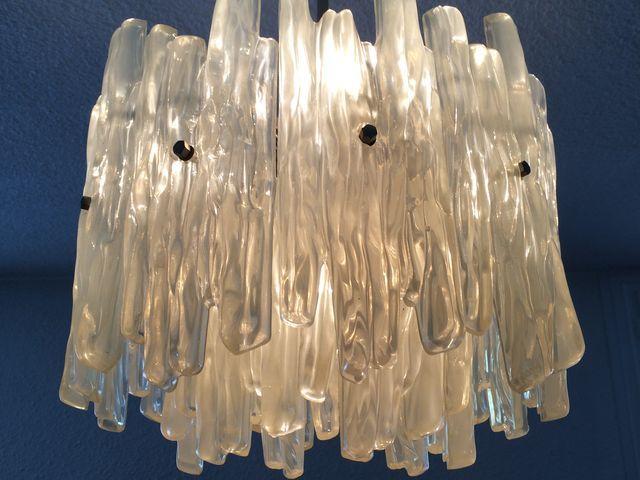 Moulé 70 Design Plexiglas Épique Lustre Années Vintage Suspension w8OXn0Pk