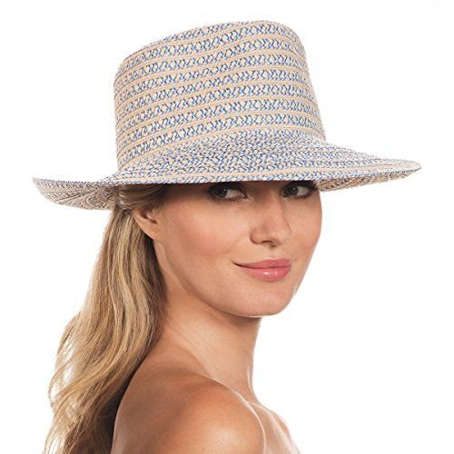 076109b23d6 Eric Javits Luxury Fashion Designer Womens Headwear Hat Birdie Blue Tweed      Click on the image for additional details. (Note Amazon affiliate link)