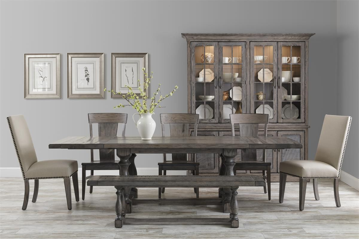 Amish baldwin dining room table farmhouse dining room