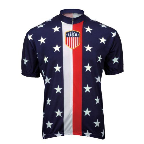World Jerseys Retro 1956 USA Jersey  BLUE XLARGE -- You can find out more details at the link of the image.