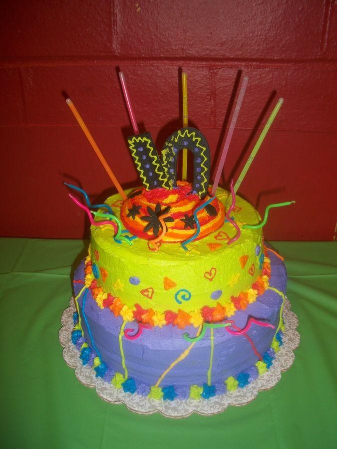 Laser Cake Tag cakepinscom Birthday party ideas Pinterest