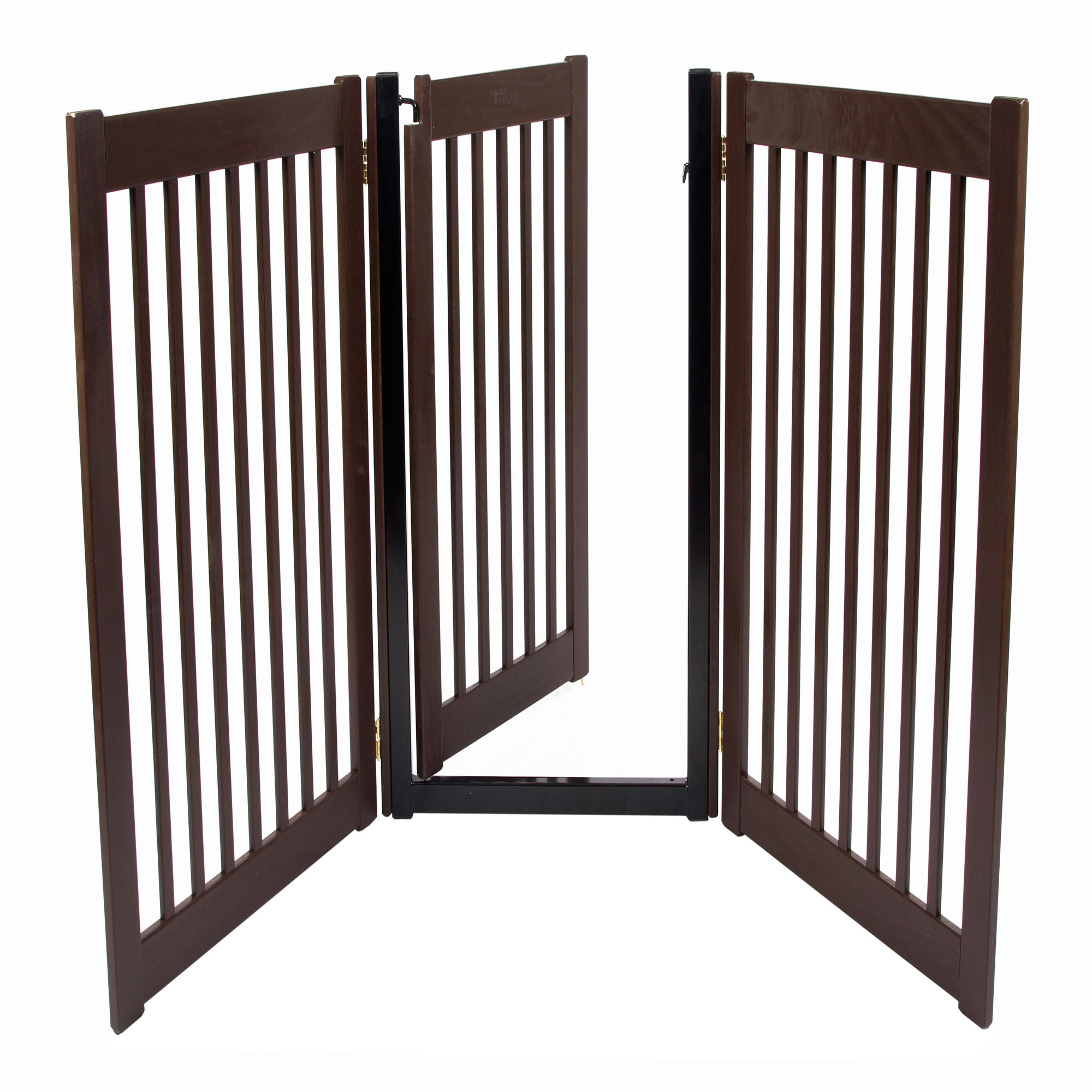 Dynamic accents 32 walk through 3 free standing pet gate