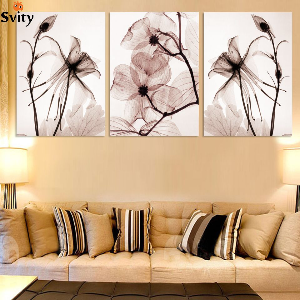 3 Panel Modern Wall canvas Painting Home Decorative Art Picture ...