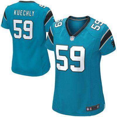 separation shoes 9e1c8 01e62 Nike Luke Kuechly Carolina Panthers Ladies Game Jersey ...