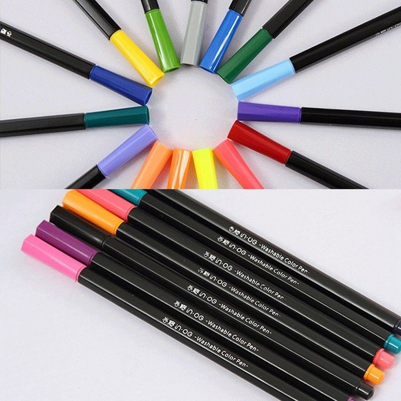 100 Colors Premium Painting Pen Watercolor Markers Pen Effect Best