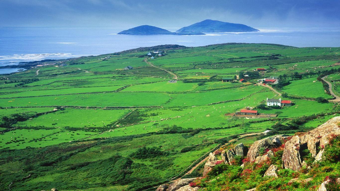 Landscape In Ireland Ireland Landscape Ireland Travel Irish Countryside