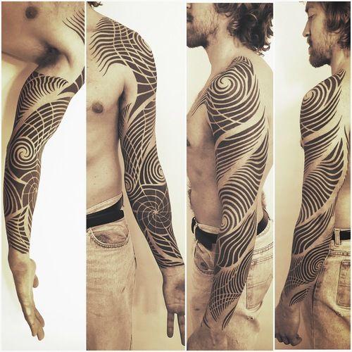 e35844894 Brandon Crone, Boulder CO | Tattoo | Tattoos, Tribal sleeve tattoos ...