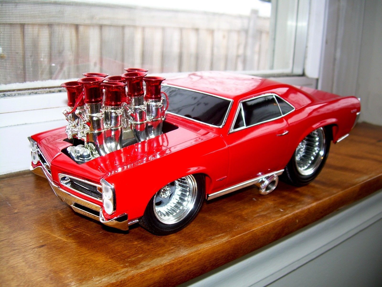 66 GTO 1 18 Die Cast Car Muscle Machines | Muscle machines model ...