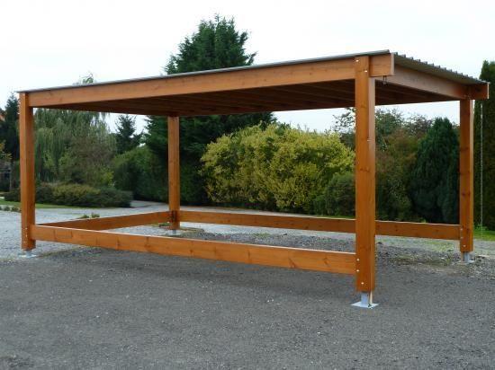 carport pergolas garage en bois meubles pinterest refuges abri voiture et abris de jardin. Black Bedroom Furniture Sets. Home Design Ideas