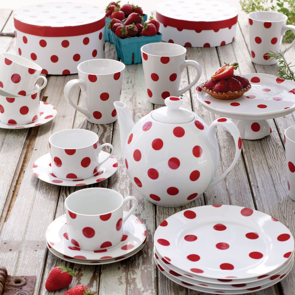 Cherry red dots for Traverse City dining | Polka Dot Love ...