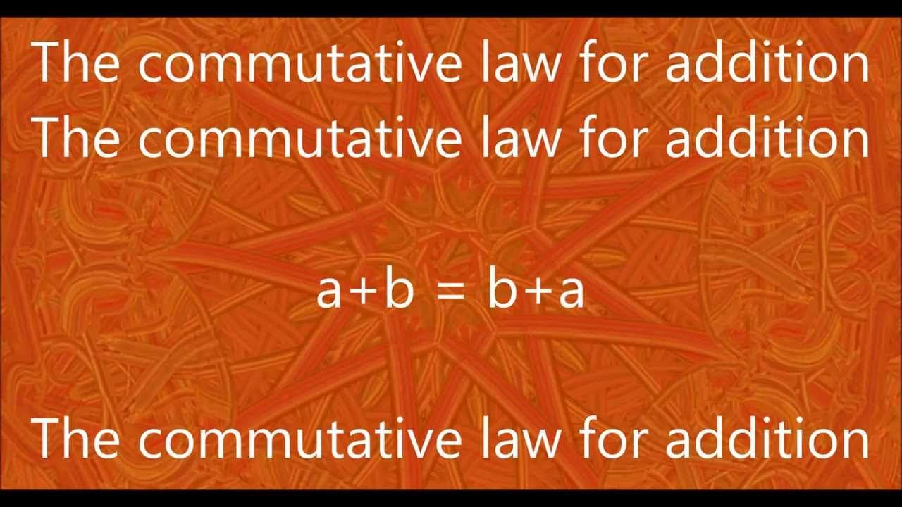 Week 22 -Math- Commutative Law for Addition Chant