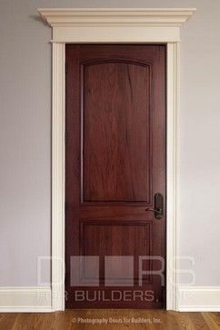 Solid Wood Interior Door Our Custom Doors Are Crafted From Also With White  Trim Main Pinterest