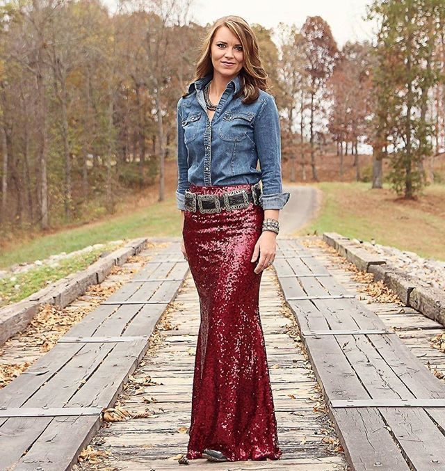 Looking for that perfect Holiday Outfit or NFR look?!? Our Lelani Sequin  Maxi - Looking For That Perfect Holiday Outfit Or NFR Look?!? Our Lelani