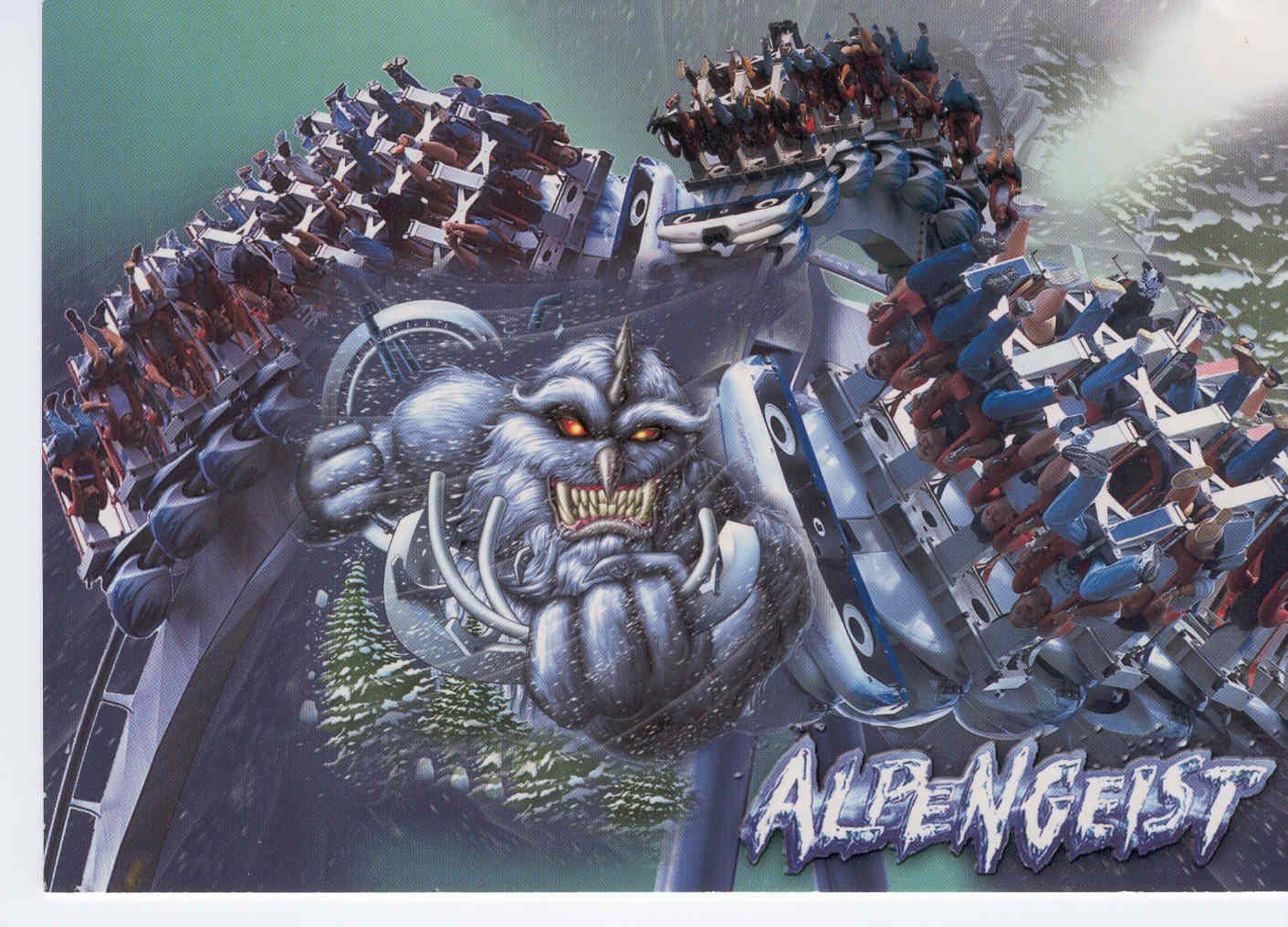 Alpengeist Busch Gardens Williamsburg VA Interesting
