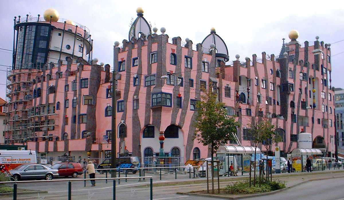 Architektur Magdeburg magdeburg hundertwasserhaus magdeburg germany