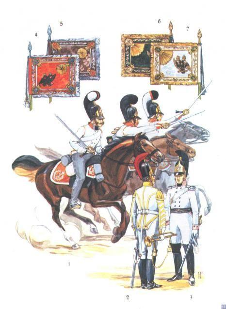 Русские кирасиры эпохи войн с Наполеоном